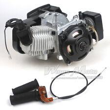 47CC 2-stroke Engine+Grips+Throttle Cable Pocket Mini ATV 7T 25H Chain 40MM Bore