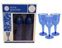 Plastic Champagne Flutes Wine Glasses Wedding Party Prosecco Drinking Cup