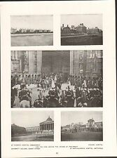 London St.Thomas Hospital,Embankment,College Gower Street  ENGLAND PLANCHE 1910