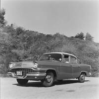 Studebaker Champion Six 1957 model OLD CAR ROAD TEST PHOTO 1