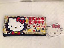 New Rare Sanrio Hello Kitty Loungefly Triangle Wallet