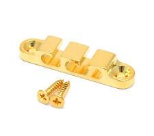 (1) Hipshot Gold Custom 3-String Bass Guitar String Guide/Retainer 405200G