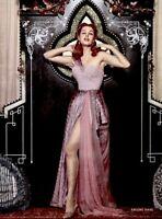 Arlene Dahl 1953 Vintage Pinup Litho Jones Photo Publicity Promo COA