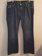 7 For All Mankind Bootcut Jeans WIth Flap Pocket in Montana Size 36 X 32