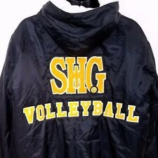 SHG Volleyball Jacket Sacred Heart Griffin High School Quilted Pullover Large