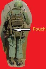 PRC 25 PRC 77 Antenna Bag Army Military CW-503 f Vietnam Pouch Handset HAM P38