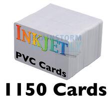 1150 High-Quality Inkjet PVC Cards - For Epson & Canon Inkjet Printers