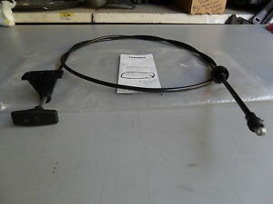 77-91 SUBURBAN C10 15 20 30 35 K10 20 30 SERIES HOOD LATCH RELEASE CABLE 912-020