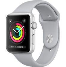 Neuf Apple Watch Series 3 42mm Aluminum Case Sport Argent avec Nuage GPS