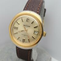 Vintage Waltham B514 Men's Automatic watch FHF 905 17Jewels date swiss made 70s