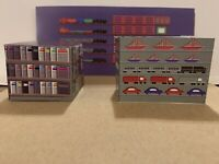 HO Scale Hobby Toy Store Building Interior Detail Model Train Scenery Sheets