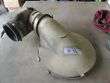 Used Air Cleaner Cap & Intake Horn, for Military Vehicle or Equipment