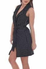 Vestiti da donna senza maniche a fantasia righe taglia 42