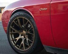 "20"" Bronze Wheels For Dodge Charger Magnum Challenger SRT8 20x9 +18 5x115 Set 4"
