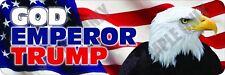 God Emperor Trump Bumper Sticker