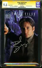 X-Files: Season 10 #7 CGC 9.6 SS DAVID DUCHOVNY Photo Cover Subscription Edition