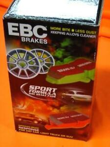 EBC YELLOW STREET TRACK Ford BF FG F6 GT FPV & TERRITORY REAR Disc Brake Pads