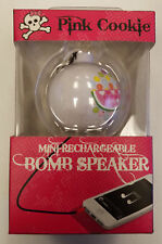 PINK COOKIE Mini-Rechargeable Bomb Speaker Keychain (#2B-C0007)