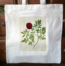 Victorian Repro cotton Shopping shoulder tote Shopper bags Botanical Print No.2