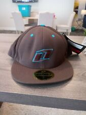 One Industries Brown/Turquoise FITTED HAT SIZE 7 5/8 NWT