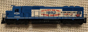 HO Rail Power Products Conrail SD50 Painted Shell & Frame 6726 Olympic Trials