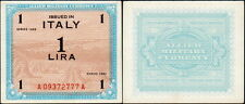 ITALIA - Italy 1 AM Lira 1943 Occupazione americana BEP - qFDS - aUNC