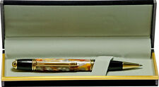 Gatsby Pen with Molten Metal Acrylic Body, 24K Gold Plated Accents and Gift Box