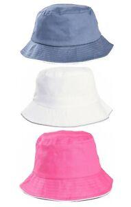 Baby Sun Hat Summer Beach Hat Bucket Cap Boy Girl Toddler Kids Newborn 0-2 Years