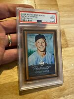 Mickey Mantle PSA 9 Mint 2018 Panini Kings #P7 Yankees Collector Card INVEST NR