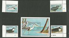 MALDIVES 1990   stamps(4) plus Min Sheet MNH