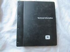 John Deere 4400 4420 Combine Shop Service Repair Technical Manual  TM1237