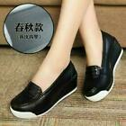 Womens Nurse Shoes Wedge Heel Work Pumps Loafers Nursing Shoes Slip On Oxfords D