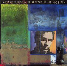 JACKSON BROWNE : WORLD IN MOTION / CD (ELEKTRA 960 830-2)