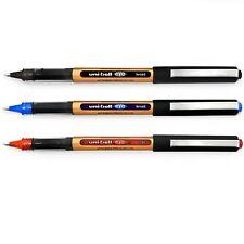 Uni-Ball Eye UB-150-10 Broad Liquid Ink Pens - 1.0mm - Black, Blue, Red - 3 Pack