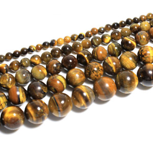 Round Natural Brown Tiger Eye Gemstone Loose Beads 6mm 30PCS