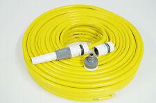 """Gartenschlauch 1/2"""" 50m gelb + Zubehör Wasserschlauch Qualitätsschlauch SWL1250"""