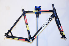 Planet X XLS Pro Carbon Cyclocross Frame and Forks - Med (54cm) - Black Flanders