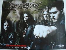DEADBORN  //  DEATH ANGEL   _ 1 Poster  29,5 cm x 39  cm