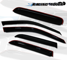 5pcs Out-Channel Visor Rain Guards Sunroof Combo For Nissan Armada 2004-2016