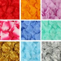 Silk Rose Flower Petals Engagement Wedding Decoration Confetti Table Party