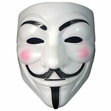 Anonymous V Vendetta Mask White Original - Guy Fawkes Mask High Quality- Durable
