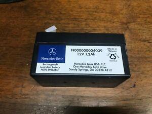 Genuine Mercedes Benz Auxiliary Aux Battery 12V 1.2Ah W221 W212 W164 NEW
