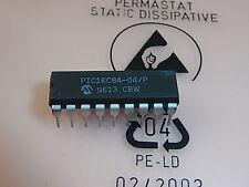 Microchip de pic16c84-04/p 8-bit microcontrollers dip-18