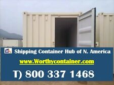 Tri Door3d 40hc New One Trip Shipping Container In Chicago Il