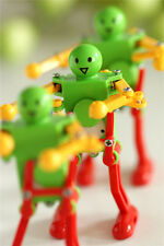 3x Real Ritzy Child Plastic Clockwork Spring Wind Up Dancing Robot Toys Gift JP