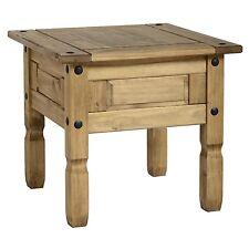 Seconique CORONA Lamp Table 1 per Carton - Distressed Waxed Pine