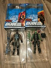 GI Joe Classified Beach Head roadblock Cobra Island Figure Target Exclusive blue