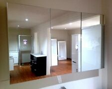 1200mm Bevelled Edge Shaving Cabinet  3 Mirror Doors