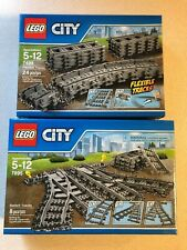LEGO TRAIN TRACK NEW IN LEGO PACKAGES 7499 and 7895
