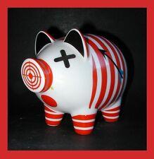 NEU +Ovp Ritzenhoff GROSSES Piggy Bank Sparschwein HUSS Nr. 1830035 Porzellan